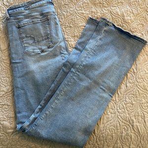 NWOT American Eagle Skinny Kick Boot Jeans 16 Long